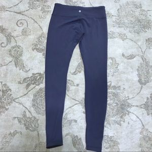 Lululemon Reversible Wunder Under Black and Navy
